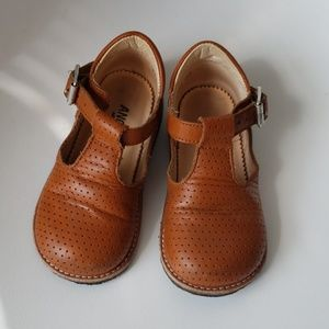 Angulus girl's leather shoes